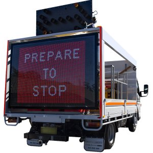 Truck Mounted VMS Boards