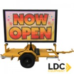 Trailer Mounted LED Billboard