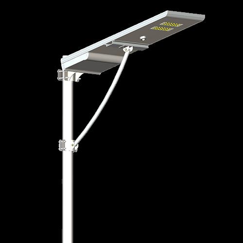 Street Light With Solar Panel: INTEGRATED SOLAR STREET LIGHT