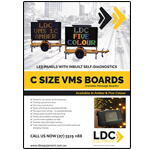 Variable Message Sign product brochure